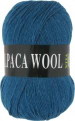 Пряжа для вязания Vita Alpaca Wool Цвет 2985 морская волна меланж