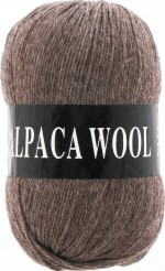Vita Alpaca Wool Цвет 2975 коричневый меланж