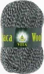 Vita Alpaca Wool Цвет 2988 черно-белый меланж