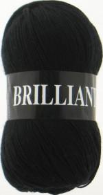 Пряжа для вязания Vita Brilliant (Вита Бриллиант) Цвет 4952 черный