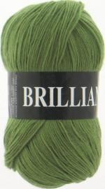 Пряжа для вязания Vita Brilliant (Вита Бриллиант) Цвет 4959 светло-оливковый