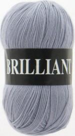 Пряжа для вязания Vita Brilliant (Вита Бриллиант) Цвет 4963 светло-серый