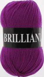 Пряжа для вязания Vita Brilliant (Вита Бриллиант) Цвет 4970 лиловый