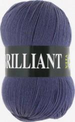 Пряжа для вязания Vita Brilliant (Вита Бриллиант) Цвет 4982 темно-серо-голубой