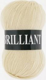 Пряжа для вязания Vita Brilliant (Вита Бриллиант) Цвет 4983 экрю
