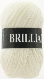 Пряжа для вязания Vita Brilliant (Вита Бриллиант) Цвет 4951 белый