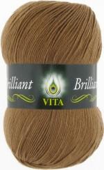 Пряжа для вязания Vita Brilliant (Вита Бриллиант) Цвет 5106 песочный