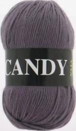 Пряжа для вязания Vita Candy Цвет 2522 серо-коричневый