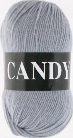 Пряжа для вязания Vita Candy (Вита Канди) Цвет 2531 серебро
