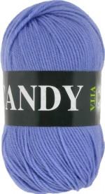 Пряжа для вязания Vita Candy Цвет 2540 голубой