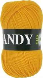 Пряжа для вязания Vita Candy Цвет 2541 желтый