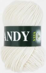Пряжа для вязания Vita Candy Цвет 2501 белый