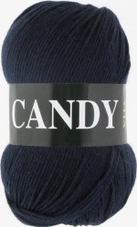 Пряжа для вязания Vita Candy Цвет 2532 темно-серый