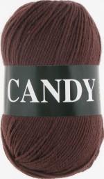 Пряжа для вязания Vita Candy Цвет 2535 темный молочный шоколад
