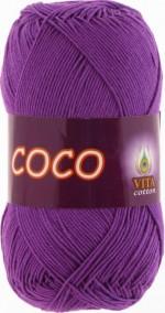 Пряжа для вязания Vita Cotton Coco Цвет 3888 лиловый