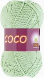Vita Cotton Coco Цвет 4314 светлый салат