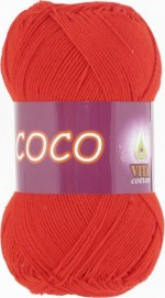 Vita Cotton Coco Цвет 4319 алый