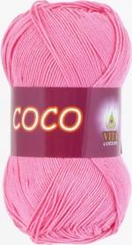 Пряжа для вязания Vita Cotton Coco Цвет 3854 светло-розовый