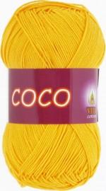 Пряжа для вязания Vita Cotton Coco Цвет 3863 желтый