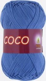 Пряжа для вязания Vita Cotton Coco Цвет 3879 темно-голубой