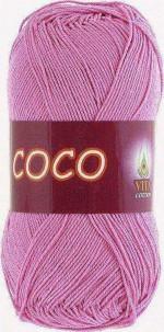 Пряжа для вязания Vita Cotton Coco Цвет 4304 св. цикламен