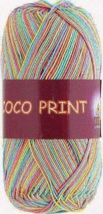 Vita Cotton Coco Print Цвет 4680 радуга