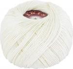 Пряжа для вязания Vita Cotton Iris (Вита Ирис) Цвет 2129 молочный