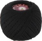Пряжа для вязания Vita Cotton Iris Цвет 2102 черный