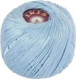 Пряжа для вязания Vita Cotton Iris (Вита Ирис) Цвет 2127 светло-голубой