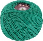 Пряжа для вязания Vita Cotton Iris (Вита Ирис) Цвет 2109 зеленая бирюза