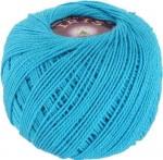 Пряжа для вязания Vita Cotton Iris (Вита Ирис) Цвет 2110 голубая бирюза