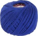 Пряжа для вязания Vita Cotton Iris (Вита Ирис) Цвет 2112 ярко-синий