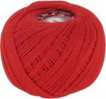 Пряжа для вязания Vita Cotton Iris (Вита Ирис) Цвет 2121 алый