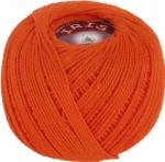 Пряжа для вязания Vita Cotton Iris Цвет 2122 морковный