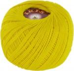 Пряжа для вязания Vita Cotton Iris (Вита Ирис) Цвет 2123 желтый