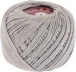 Пряжа для вязания Vita Cotton Iris (Вита Ирис) Цвет 2124 светло-серый