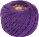 Пряжа для вязания Vita Cotton Iris (Вита Ирис) Цвет 2114 фиолетовый