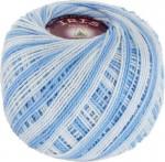 Vita Cotton Iris Print Цвет 2203 светло-голубой меланж