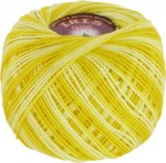 Vita Cotton Iris Print Цвет 2209 желтый меланж