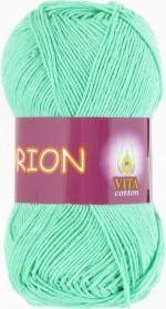 Vita Cotton Orion Цвет 4577 светлая зеленая бирюза