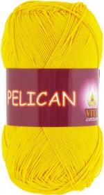 Пряжа для вязания Vita Cotton Pelican Цвет 3998 желтый
