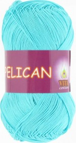 Vita Cotton Pelican Цвет 3999 светлая голубая бирюза