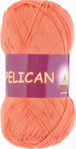 Пряжа для вязания Vita Cotton Pelican Цвет 4003 персик