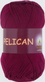 Пряжа для вязания Vita Cotton Pelican (Вита Пеликан) Цвет 3955 винный