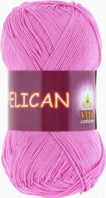 Пряжа для вязания Vita Cotton Pelican (Вита Пеликан) Цвет 3977 светло-розовый