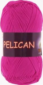 Пряжа для вязания Vita Cotton Pelican (Вита Пеликан) Цвет 3980 фуксия