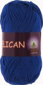 Vita Cotton Pelican Цвет 3983 ярко-синий