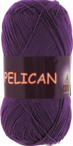 Пряжа для вязания Vita Cotton Pelican Цвет 3984 фиолетовый