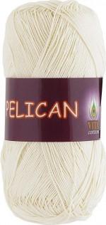 Пряжа для вязания Vita Cotton Pelican Цвет 3993 молочный
