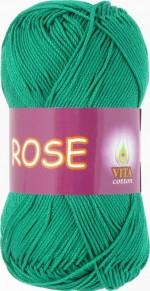 Пряжа для вязания Vita Cotton Rose (Вита Роза) Цвет 4251 мята